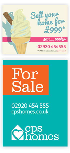 CPS Homes Estate agent boards